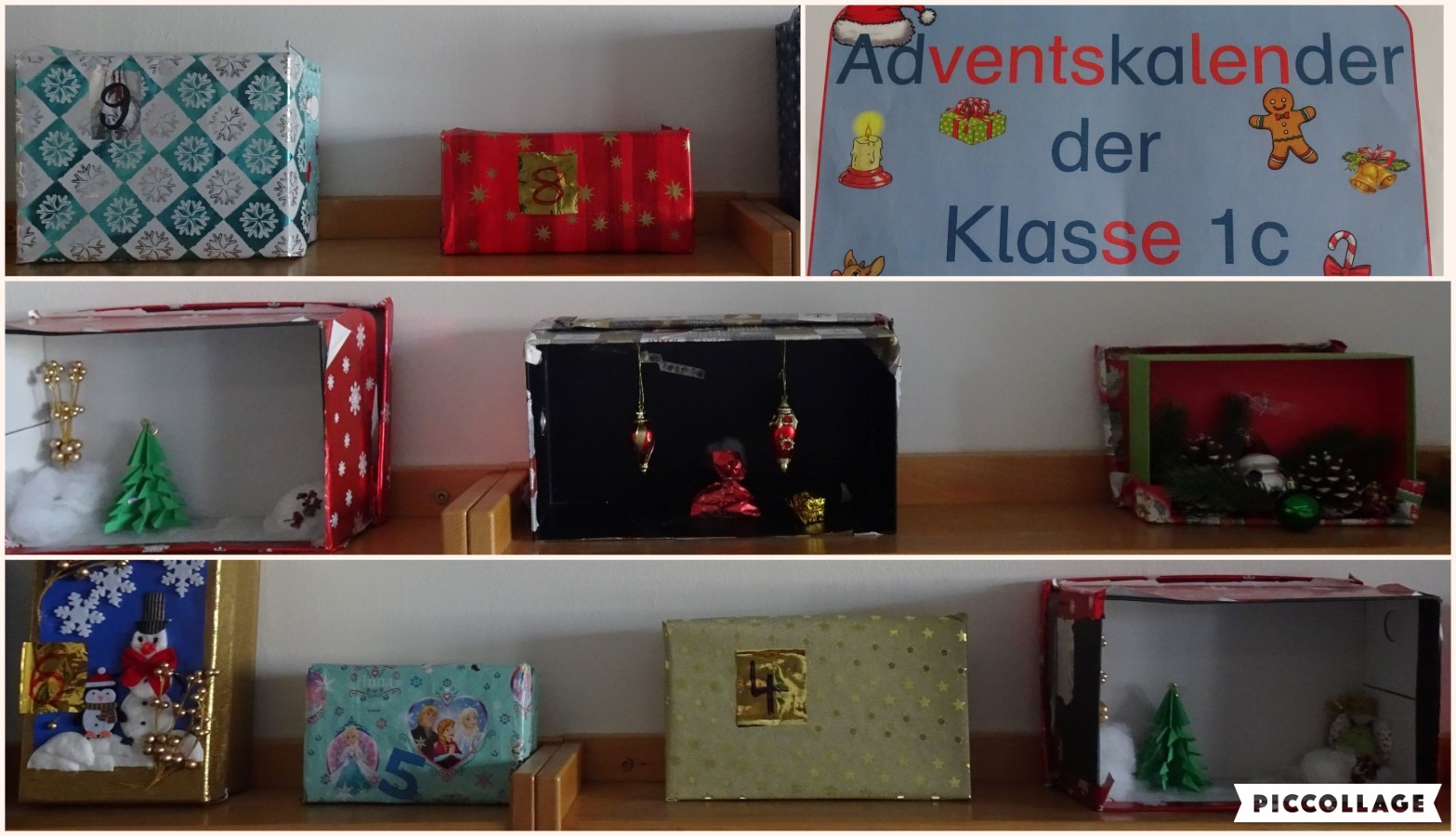 Collage Adventskalender